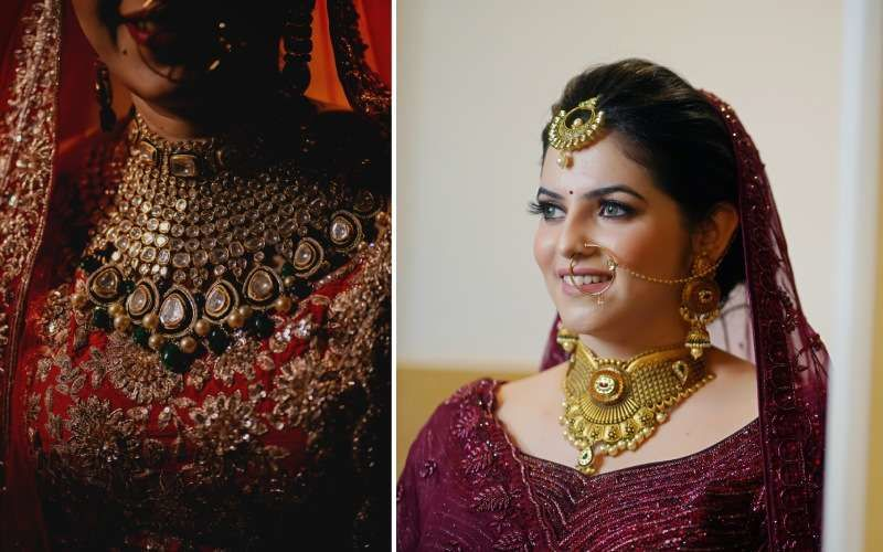 flower wedding jewellery trends 2020