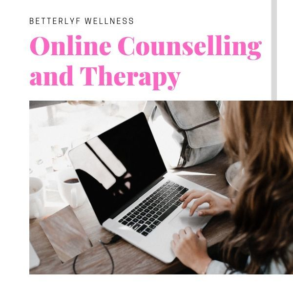 online counselling services by BetterLYF