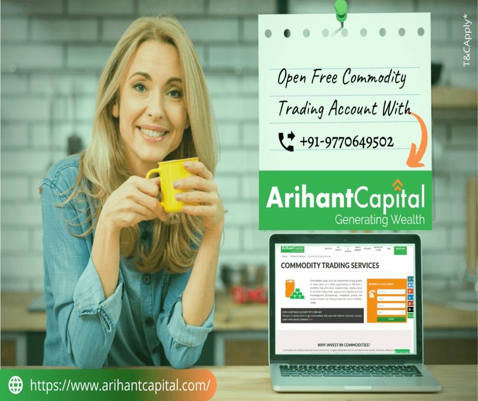 Online Commodity Trading Services in India | Arihant Capital
