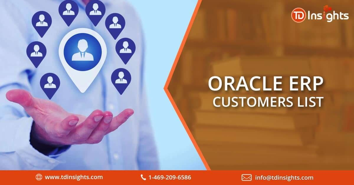 Oracle ERP Customers List