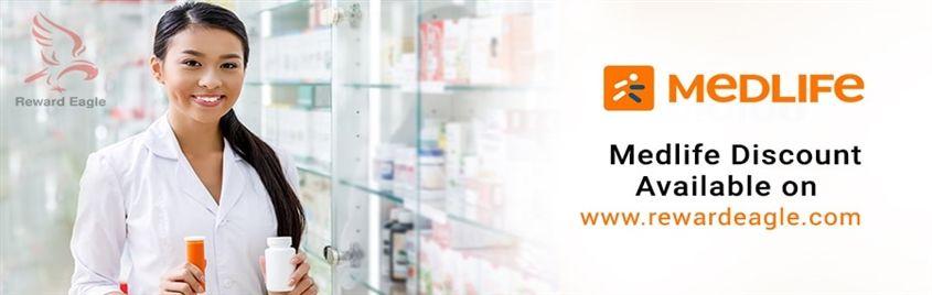 Medicine Cabinet with Medlife Promo Coupon Code | Reward Eagle