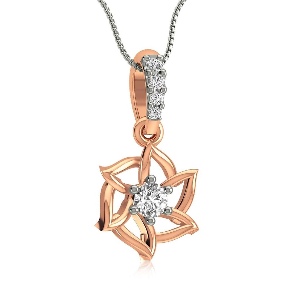 Buy Diamond Pendants Designs Online Starting at Rs.4893 - Rockrush India