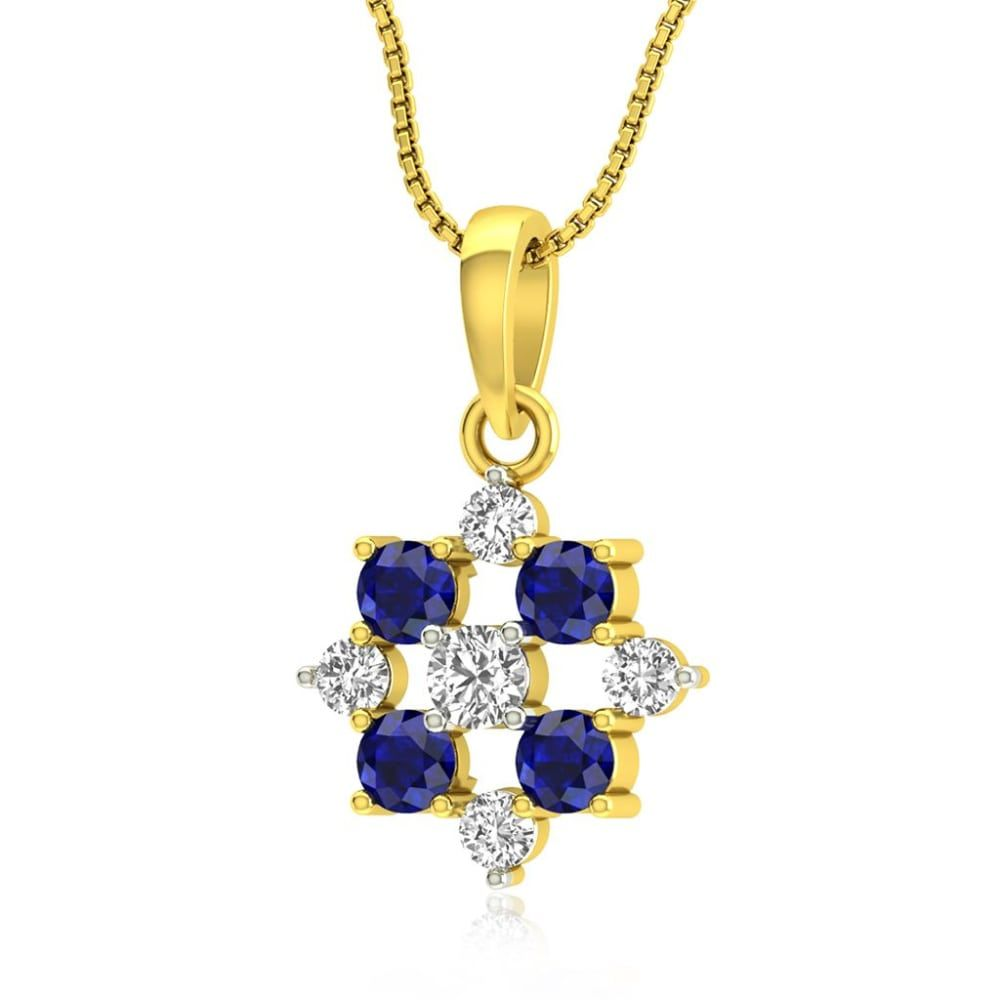 Buy Gemstone Pendants Designs Online Starting at Rs.8141 - Rockrush India