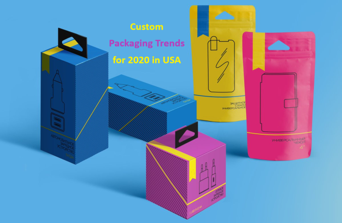Custom Packaging Trends for 2020 in USA