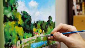 Now it's easy to Improve Your Acrylic Painting At Home - Charming Colours
