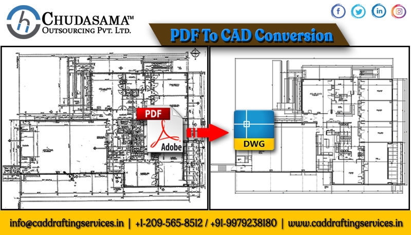 PDF to CAD Conversion | CAD Conversion Services | Paper to CAD Drawing