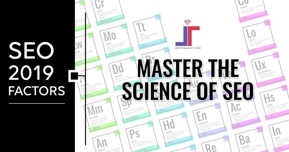 SEO periodic table simplified to Improve ranking in 2019