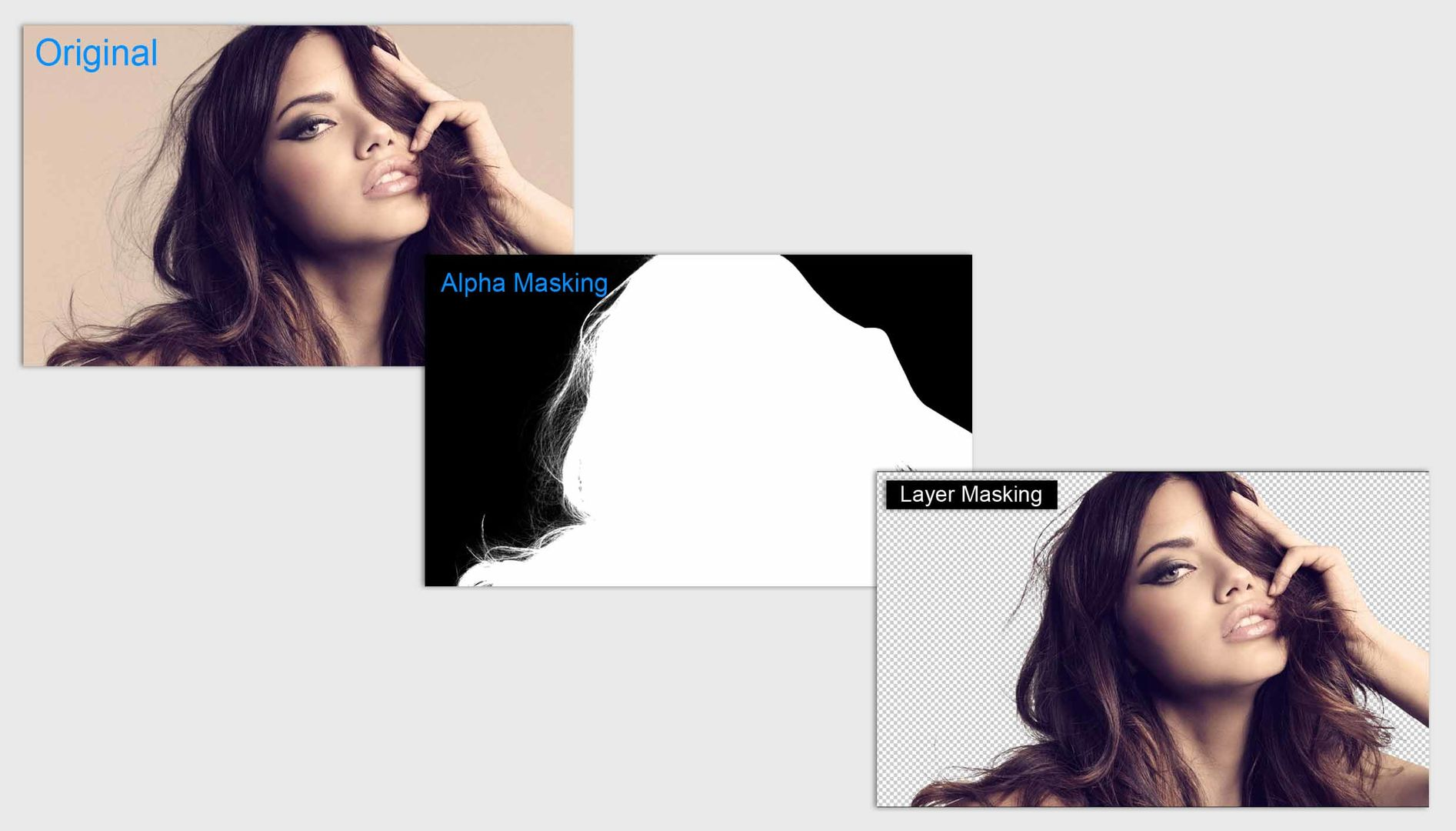 Image Masking Service | Photoshop Hair Alpha Layer Masking