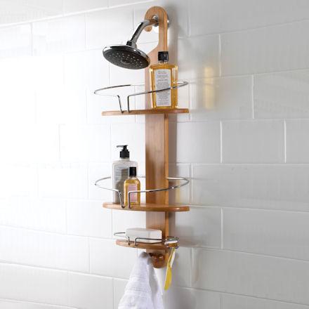 Bamboo Shower Caddy: Most Stylist Bathroom Accessories - Rocking Bathroom