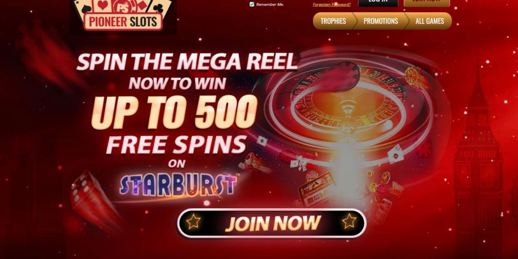 New Slot Site Pioneer Slots | Win Up To 500 Free Spins on Starburst!