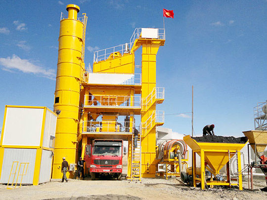 Planta De Asfalto En Caliente - AIMIX Grupo Fabricante Profesional