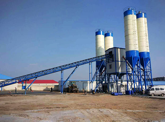 Planta De Concreto Estacionaria - Aimix Grupo Fabricante Profesional