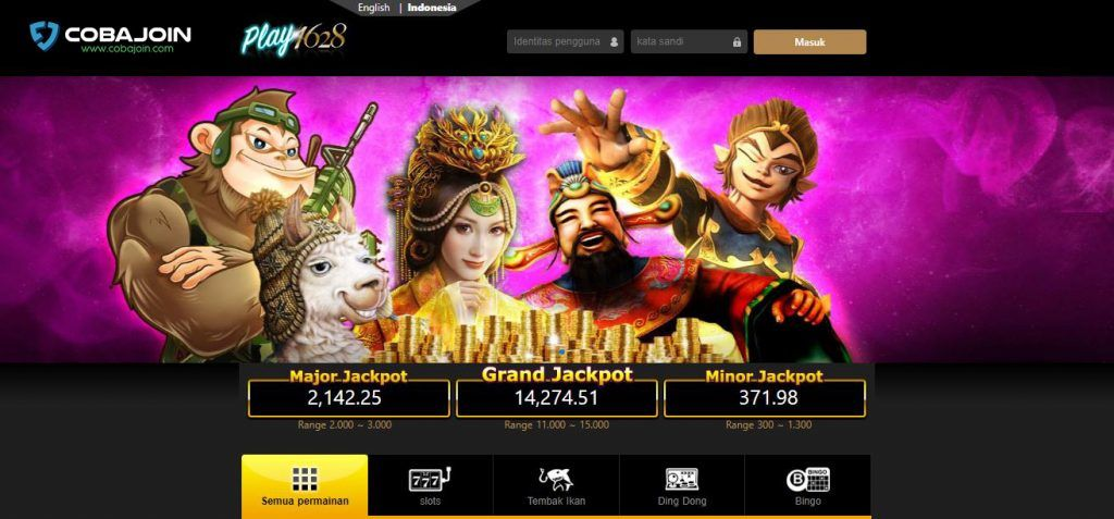 PLAY1628 : Platform Slot Online Terpercaya Indonesia | CobaJoin