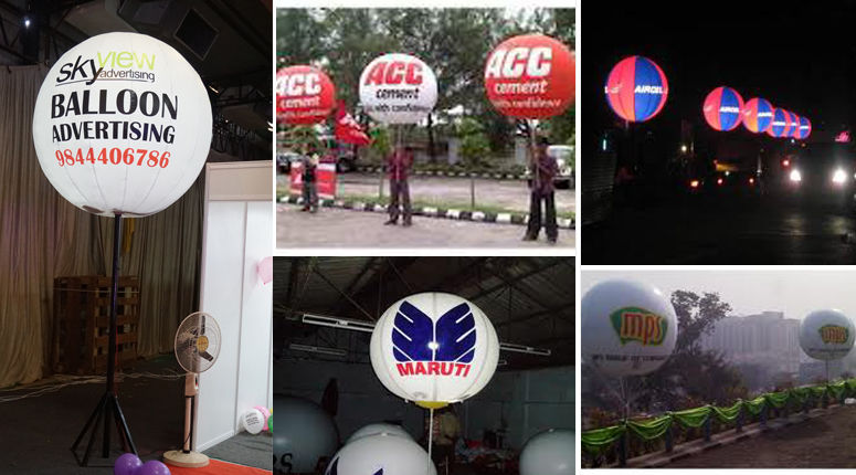 Looking Pole Inflatables,Promotional Inflatables and Pole Inflatable Manufacturer in Bangalore