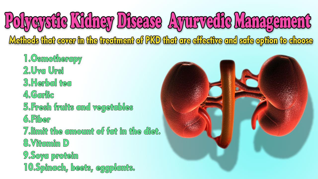 Polycystic Kidney Disease Treatment in Ayurveda