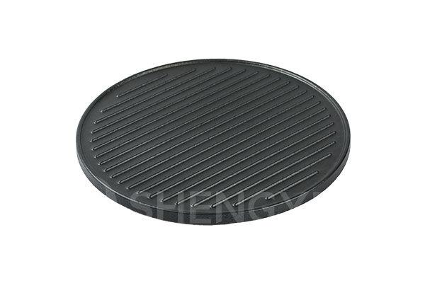 Bakeware wholesale glazed non-stick grill stone for steak | Shengye SYGS340RD