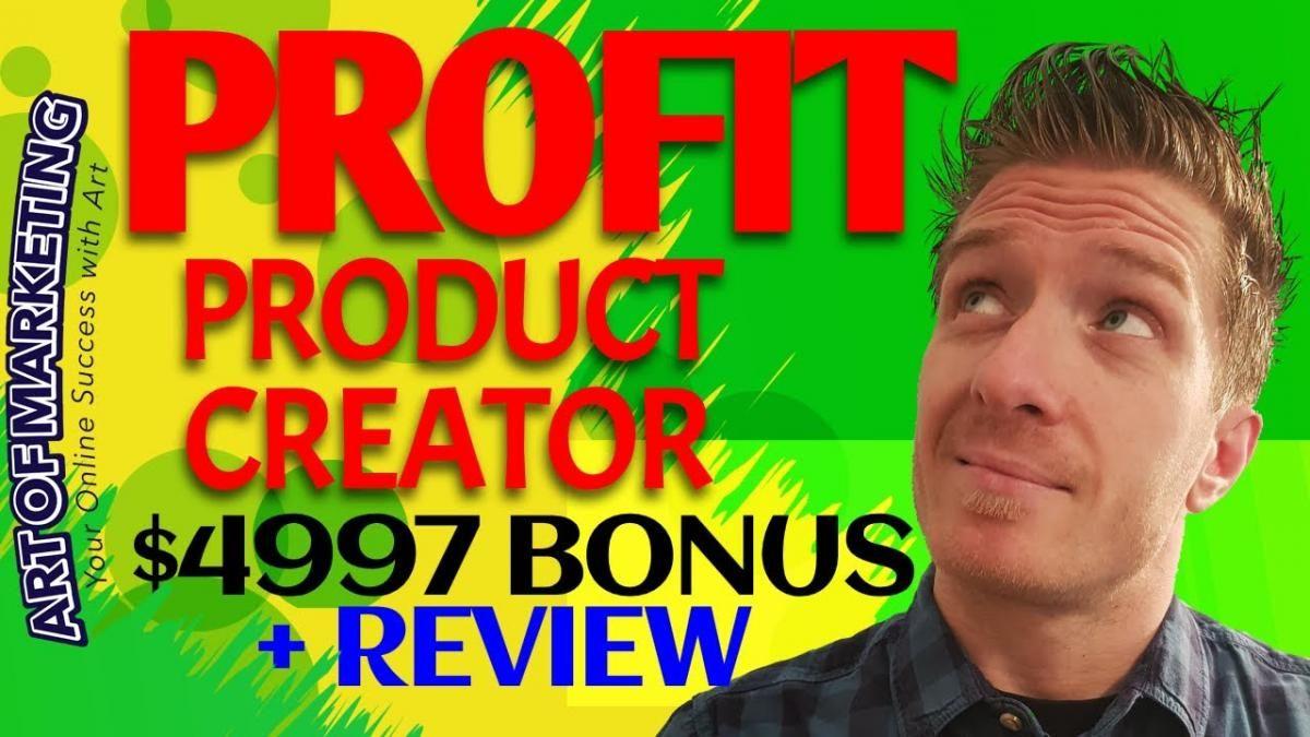 ProfitProductCreator Review, Demo, $4997 Bonus, Profit Product Creator Review