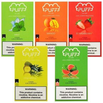 PUFF PODS - 4 PACK - Wholesale Vapor Supplies | USA Vape Distributor