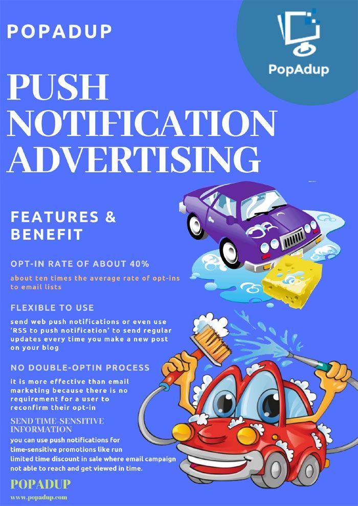 Push Notification Advertising Network