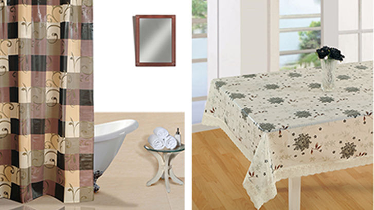 Own Trendy Products From Leading PVC Home Furnishing Manufacturer-LivIndia