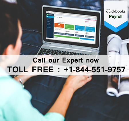QuickBooks Support +1(844) 551 9757 Get payroll Help