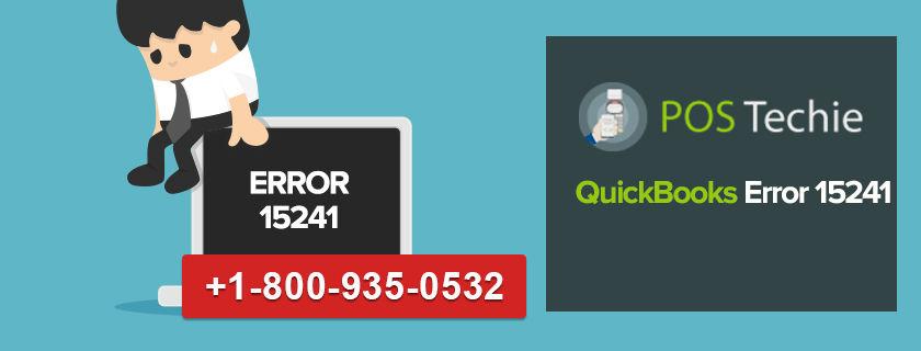 QuickBooks Error 15241 : QuickBooks Support +18009350532 Phone Number