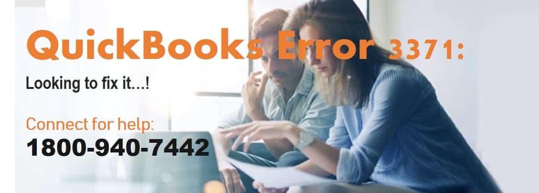 QuickBooks Error 3371, Status Code -11118 Support.