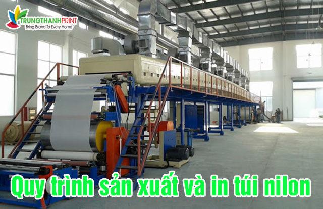 Quy trình sản xuất và in túi nilon tại Trung Thành Print