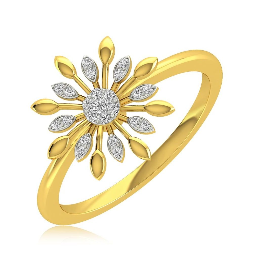 Buy Diamond Rings Designs Online Starting at Rs.7029 - Rockrush India