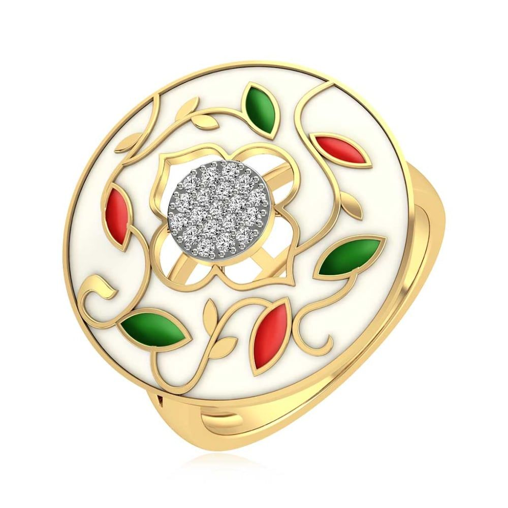 Buy Cocktail Rings Designs Online Starting at Rs.13080 - Rockrush India