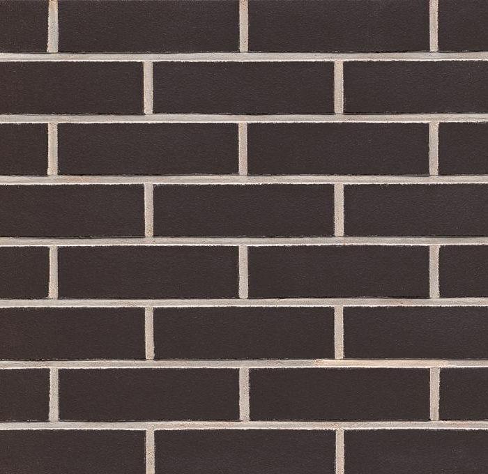 Black clinker bricks