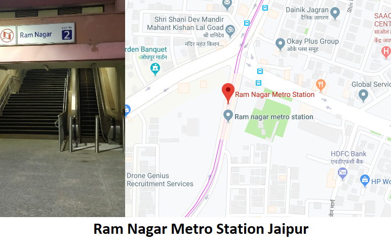 Ram Nagar Metro Station Jaipur - Routemaps.info