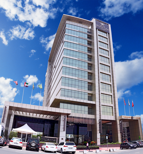 hotels in dubai, hotels near airport, royal continental hotels