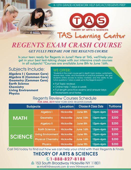 Regents Classes