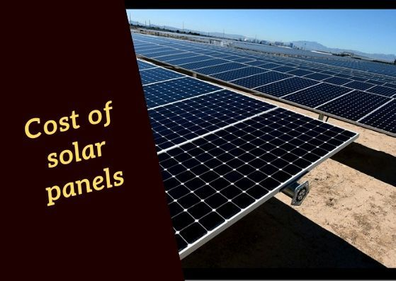 Facts about the Cost of Solar Panel | Solar Energy Installation