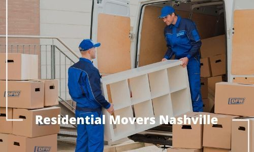 Want to take the support of residential movers in Nashville?