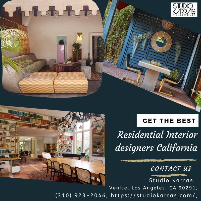 residential interior designers california