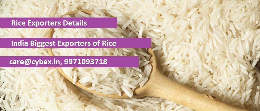 Rice Export Data