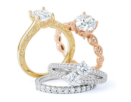 MyBridalRing - Wedding Rings, Engagement Rings, Bridal Rings for Women at Online Jewelry Store, Los Angeles California
