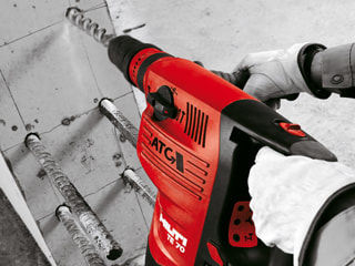 Tips for Using a Hammer Drill to Drill through Concrete