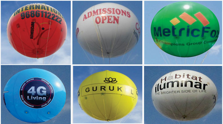 One Stop Solution For Round Balloon Advertising| Skyview Advertising