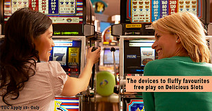 cross.tv - Delicious Slots - The devices to fluffy favourites free play on Delicious Slots