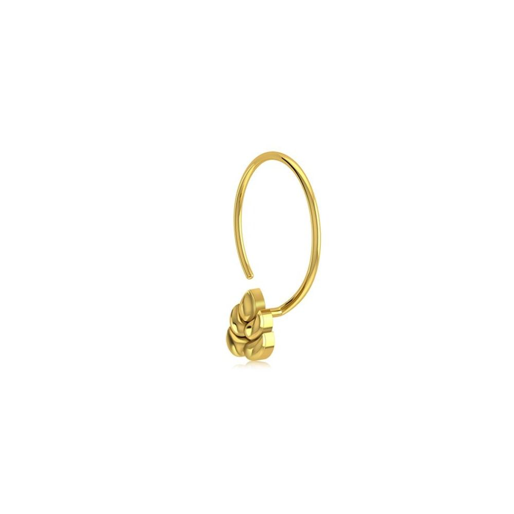 Buy Gold Nose Pin Designs Online Starting at Rs.2696 - Rockrush India