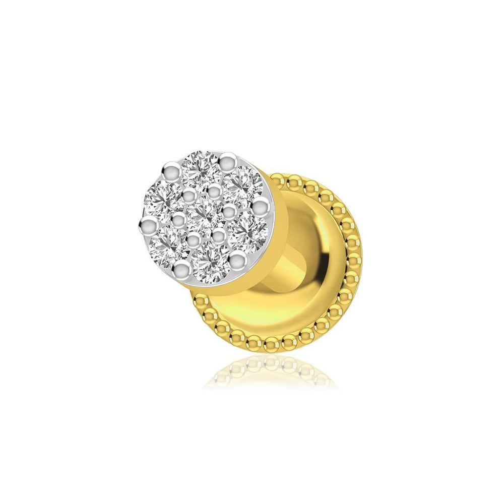 Buy Diamond Nose Pin Designs Online Starting at Rs.4201 - Rockrush India