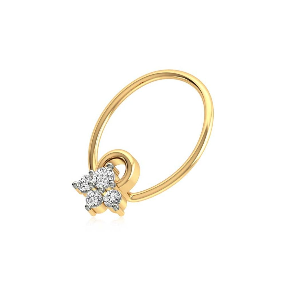 Buy Nose Pins Designs Online Starting at Rs.2696 - Rockrush India