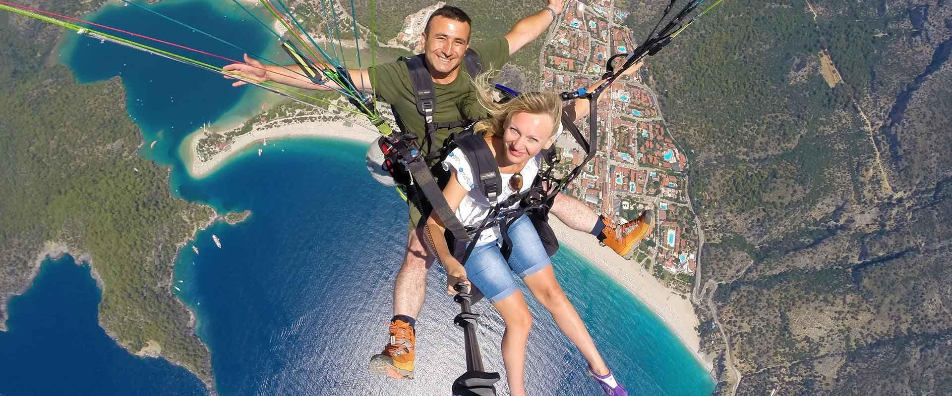 Yamaç Paraşütü | Tandem Uçuş Eğitimi | FlyMarmara