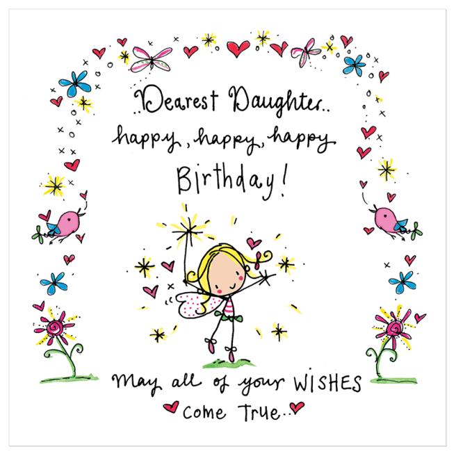 Geburtstagssprüche für Tochter – Herzliche Geburtstagswünsche