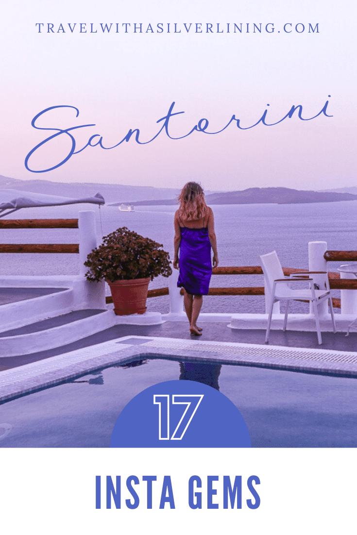 Santorini Instagram Spots