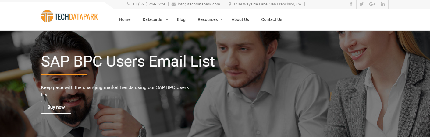 SAP BPC Users email List | BPC Customers Mailing Database