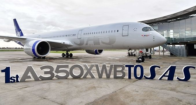 SAS receives its first Airbus A350 XWB  Aircraft Manufacturers